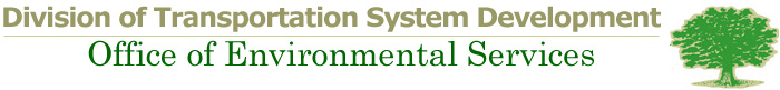 Division of Planning Office of Environmental Services