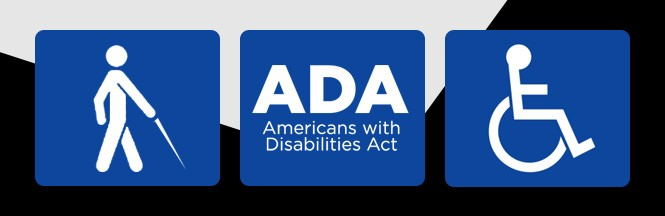 ADA Americans with Disabilities Act Banner