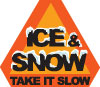 Ice & Snow ... Take It Slow logo