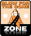 Slow for the Cone Zone