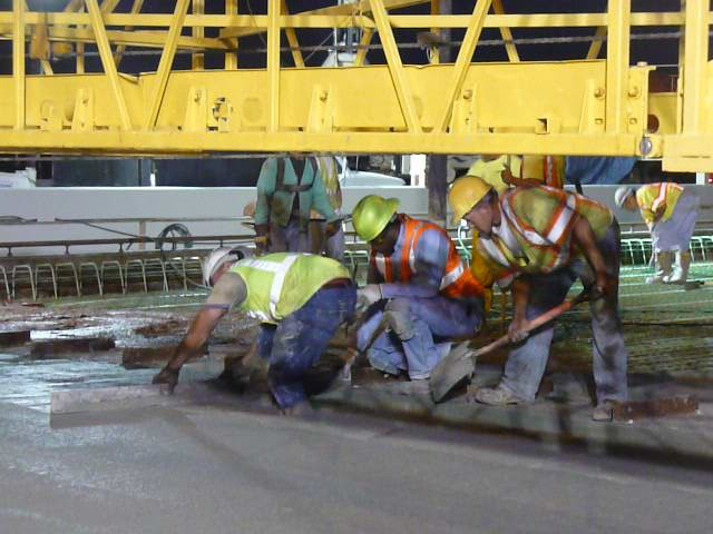 I-90 Twin Bridge Replacement Deck Pour