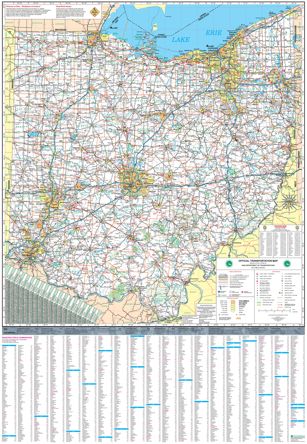 Pages Ohio Transportation Map Archive - Maps of ohio