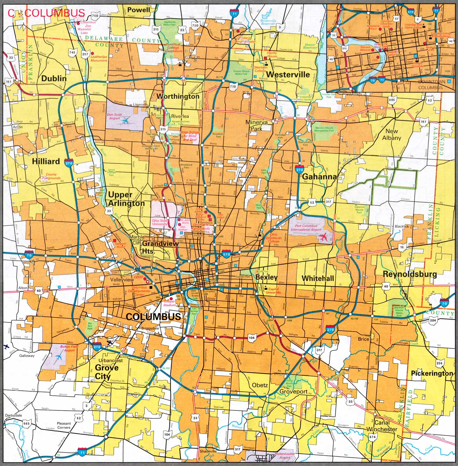 City Map Sites Perry Casta±eda Map Collection UT Library line