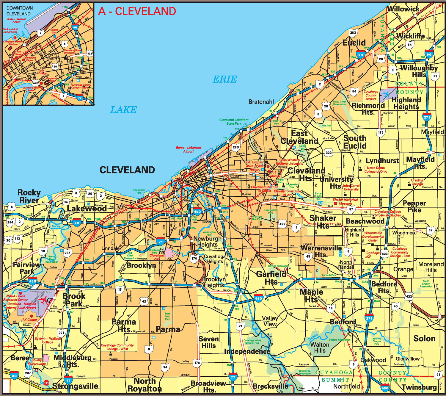 Pages Ohio Transportation Map Archive - Us map of ohio