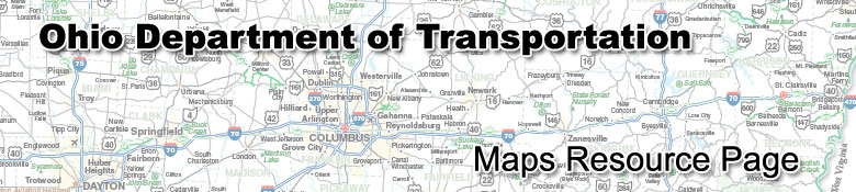 ODOT Maps Resource Page Banner